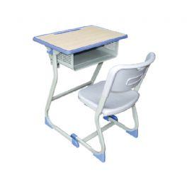 弯管固定课桌椅WT-15-1017