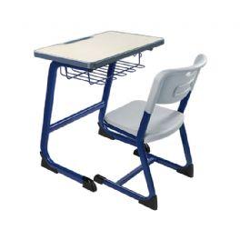 弯管C型课桌椅WT-16-1007