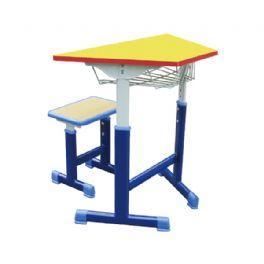 梯形套管升降拼装桌凳WT-19-1002