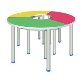 弧形拼桌WT-19-1003