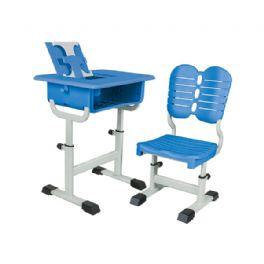 旋钮升降课桌椅WT-19-1011