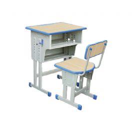 双柱双层升降课桌椅WT-19-1023