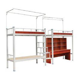 68×68异形钢管卡式公寓床WT-19-5001