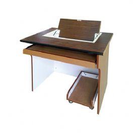 单人自动翻转电脑桌WT-3007