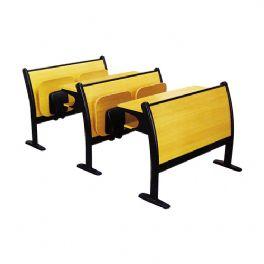 豪华板式教学椅WT-003