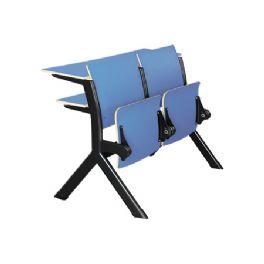 羊角式活动教学椅WT-013