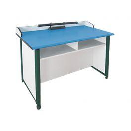 生物塑钢框架实验桌WT-SW305