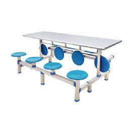 八位圆盘不锈钢翻转餐桌WT-15-6024